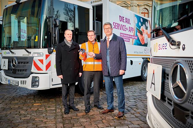 kd181 mercedes benz1 - Müllabfuhr in Ludwigsburg: Mit dem Mercedes-Benz Econic auf der sicheren Seite