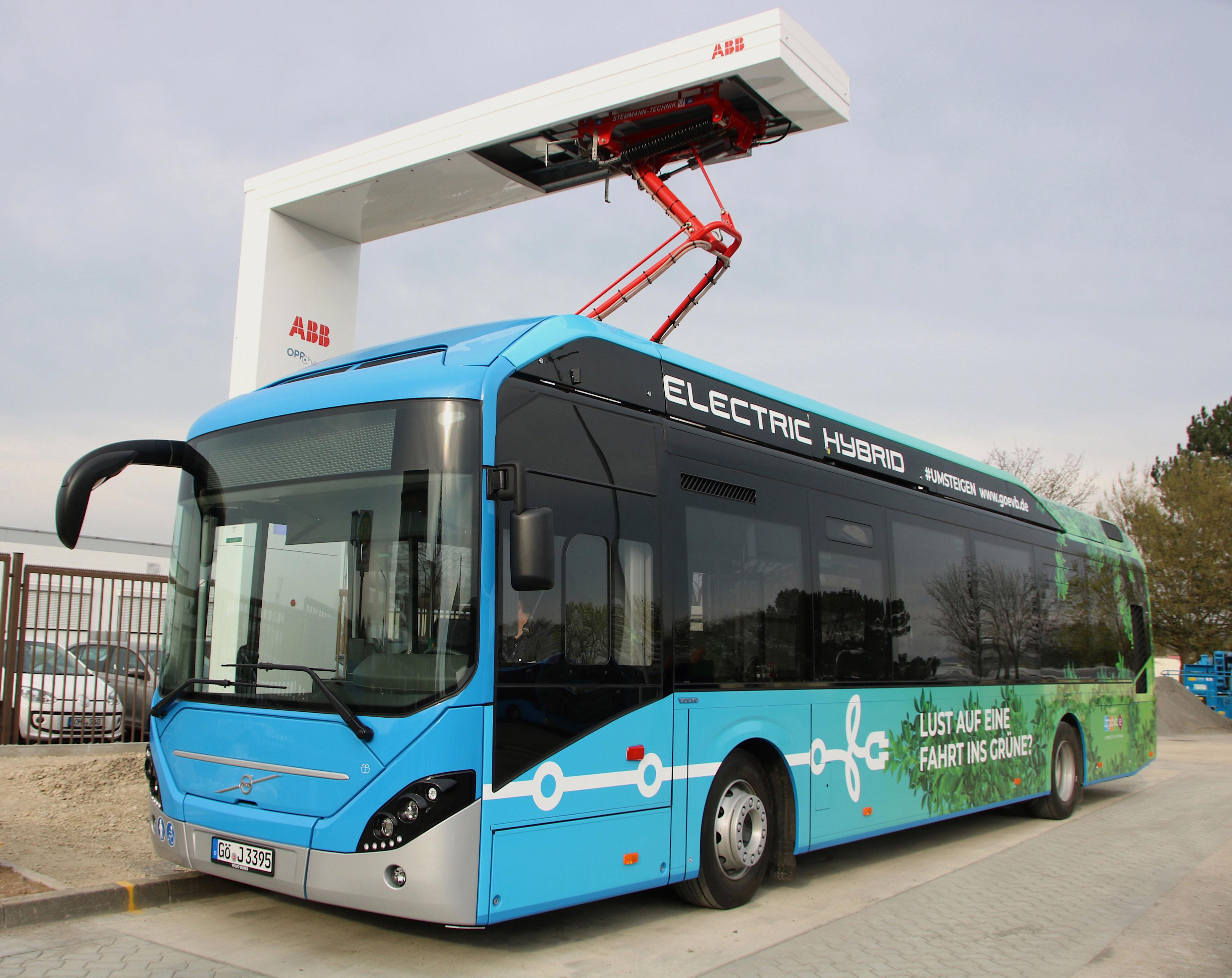 Volvo 7900 EH GöVB - Umweltfreundlich durch die Innenstadt