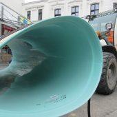 """""""Erste Wahl für die Sanierungsmaßnahme in Bonn: GFK-Rohre und Sonderprofile verfügen über hervorragende Werkstoffeigenschaften, so etwa mit Blick auf eine lange Haltbarkeit und hohe Widerstandsfähigkeit gegen Korrosion, aber auch in Bezug auf die hydraulischen und statischen Eigenschaften."""""""