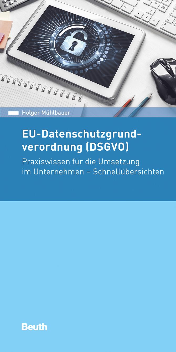 kd182 beuth - EU-Datenschutzgrundverordnung  (DSGVO)