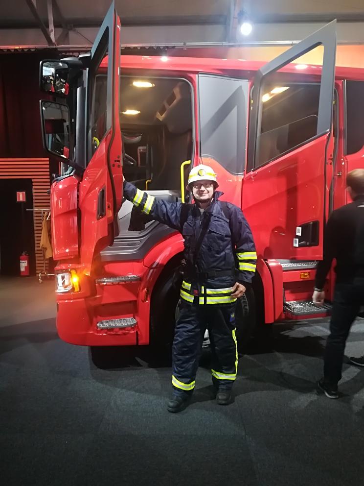 Scania 5 - Kommunal Direkt vor Ort:  Scania - Södertälje Schweden