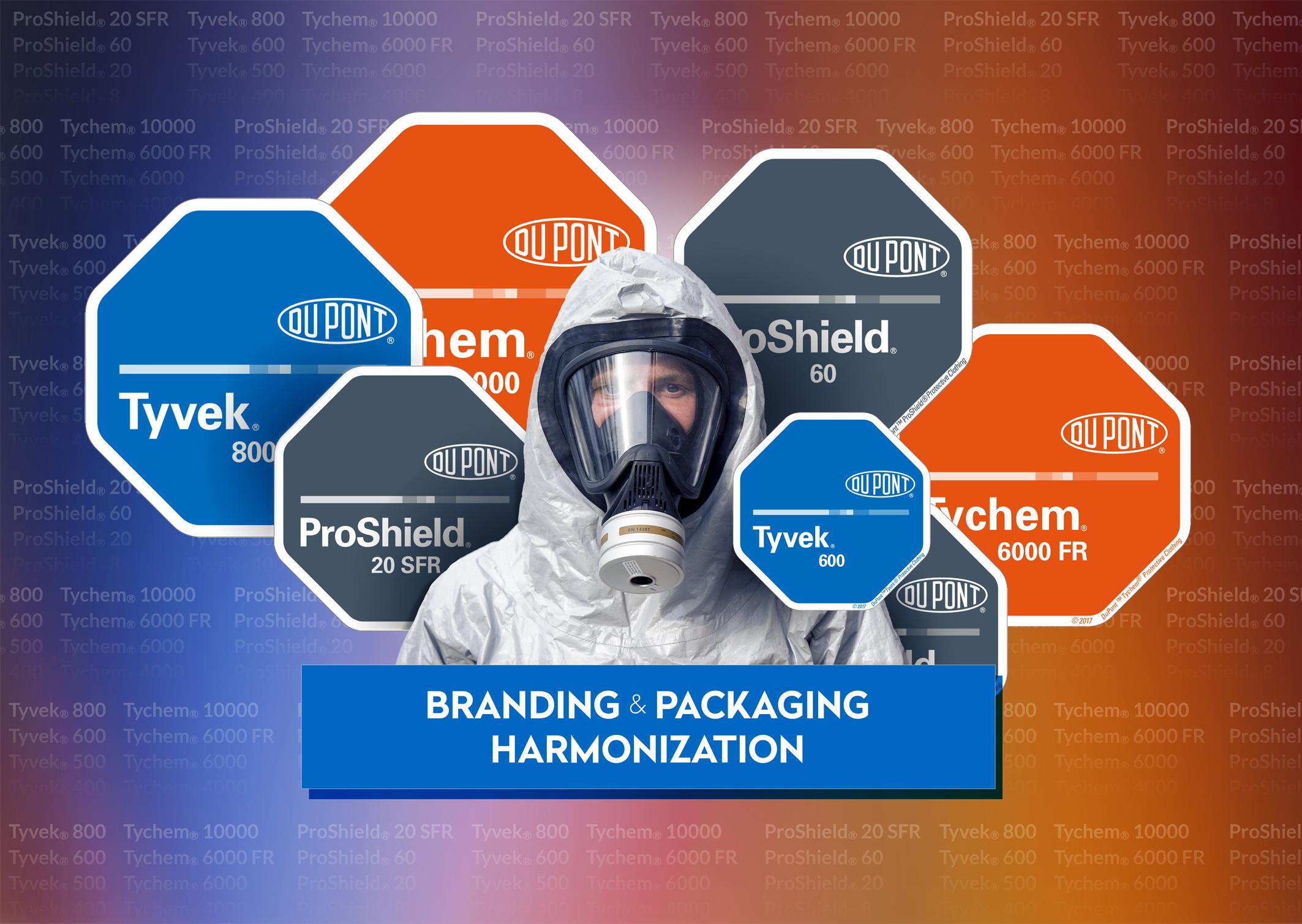 2018 0164 DuPont Rebranding - Neues Branding für Schutzkleidung von DuPont erleichtert Auswahl