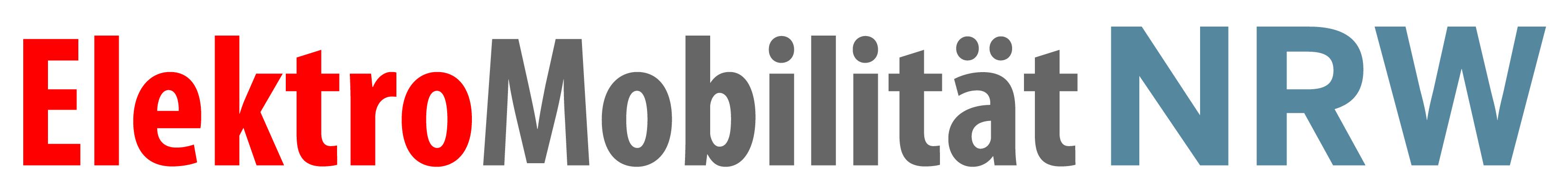 Logo ElektroMobilitaet NRW druckfaehig - Umfrage zur Elektromobilität