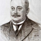 Ein Portrait des Firmengründers Franz Carl Nüdling