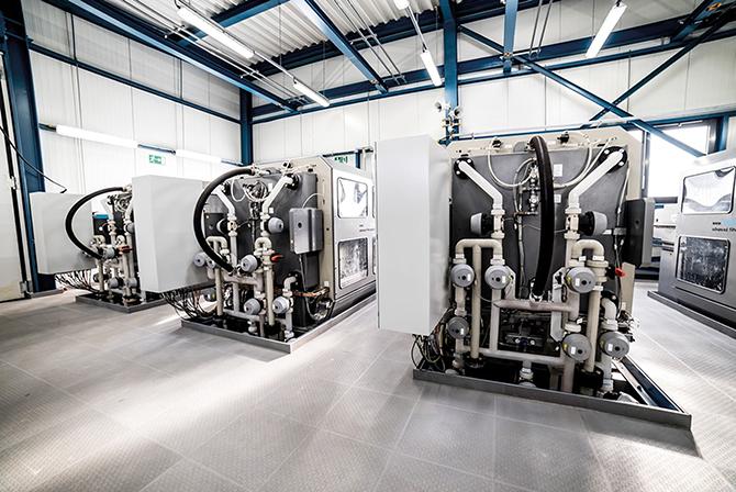 kd184 currenta2 - Waschwasserbehandlung mit Filterautomaten  bewährt sich im Dauereinsatz