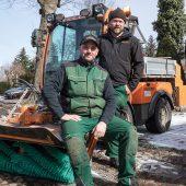 Clemens Brundke und Roger Thürmann, Inhaber von Brundke & Thürmann GbR Garten- u. Landschaftsbau