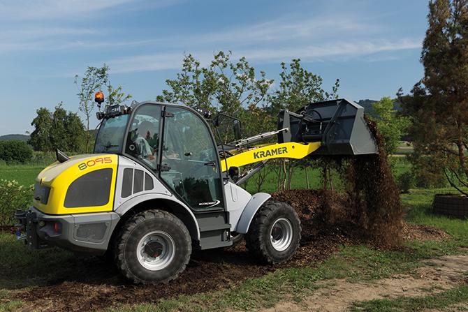 kd184 kramer2 - GaLaBau 2018: Kramer Maschinen für den professionellen Einsatz im Garten- und Landschaftsbau