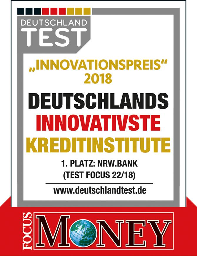 kd184 nrw bank - NRW.BANK als innovativstes Kreditinstitut ausgezeichnet