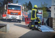Der erste elektrisch angetriebene Rettungstechnik-Rollcontainer