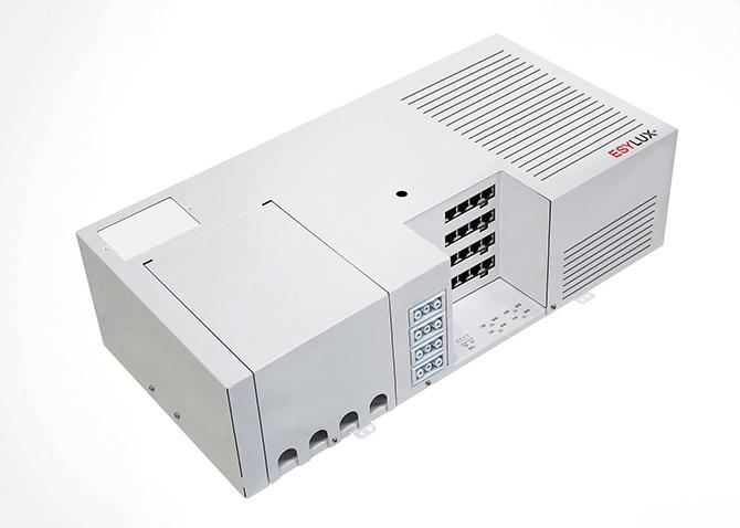 SmartDriver TW x8 ELC, Steuereinheit für die Plug- and-play-Installation aller Systemkomponenten