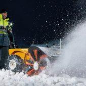 kd186 pellenc1 170x170 - Leise räumt man den Schnee