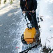 kd186 pellenc2 170x170 - Leise räumt man den Schnee