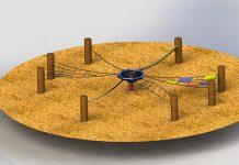 """Schön wackelig! Der """"Meeting Circle"""" von Hally Gally fördert das Gleichgewicht"""