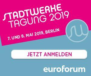 Tagung Stadtwerke 2019 @ Titanic Chaussee Berlin