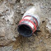 Eine perfekte Kombination: Mit BI-Adapter und VPC®-Rohrkupplung lassen auch dauerhaft dichte Verbindungen zu Rohren schaffen, die nur innen kreisrund sind.