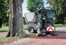 Leistungsstarke Kommunalmaschine der 2,5t-Klasse von Kärcher – Komfortabel durch die Umweltzone