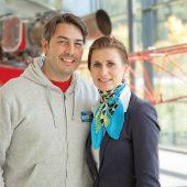 Die Geschäftsführer von Heli Austria, Roy und Mag. Saskia Knaus, schätzen die vielfachen Vorteile einer blueSmart Schließanlage.