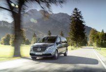 Premiere für die neue Mercedenz-Benz V-Klasse