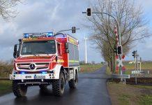 Feuerwehr Minden  mit neuem Tanklöschfahrzeug