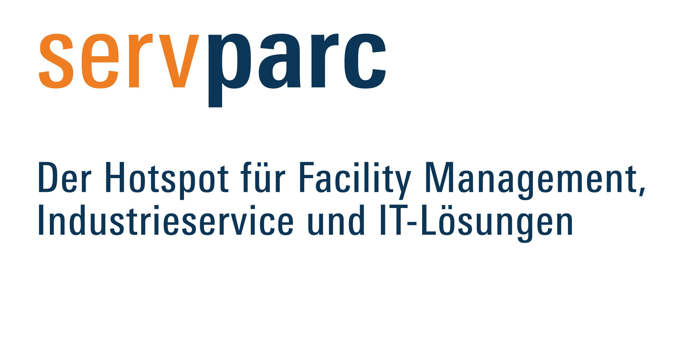 servparc subline DE RGB - Servparc - Hotspot für Facilitymanagement und Industrieservice