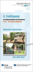 Kindersicherheit auf Spielplätzen - 3. Fachtagung @ Berufsschulzentrum München - Große Aula