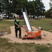 kd619 sandfuchs 170x170 - Neues Verfahren für Sandflächenreinigung