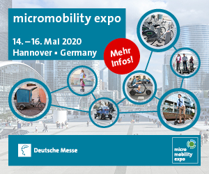 micromobility expo @ Deutsche Messe Hannover