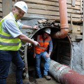 kd120 funke bochum3 170x170 - HS®-Kanalrohre bei Sanierungsarbeiten in Bochum erste Wahl - Leichte Rohre bergmännisch verlegt
