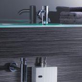 Für mehr Hygiene: Der elektronische AEG Klein-Durchlauferhitzer MTE erwärmt das Wasser sekundenschnell. Als Elektroanschluss reicht eine gängige 230 V-Leitung aus, was die Nachrüstung unter oder über dem Waschtisch nahezu überall möglich macht.