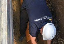 Bei Kanalbaumaßnahmen setzen die Stadtwerke Jena Netze auf Qualifikationsnachweise wie das Gütezeichen Kanalbau. (Foto: Stadtwerke Jena Netze)