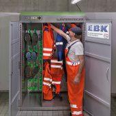 Wintersteiger Combi Eco - Trocknungsschrank für komplette Ausrüstungen. (Foto: Foto Heuser)