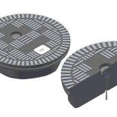 Bei Signalstörungen – beispielsweise verursacht durch Oberleitungen – lassen sich zusätzliche Sendeantennen direkt in den Schachtdeckel integrieren. (Foto: KHK, Karlsruhe)