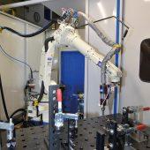 Investition in die Schweißtechnik: Neuer Schweißroboter unterstützt die Serienproduktion.