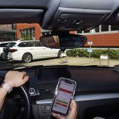 Parksperren öffnen sich mit Book-n-Park bequem per Web-App auf dem Smartphone.