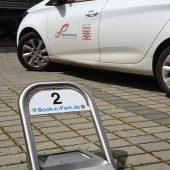 Sie sehen gut aus und lassen sich ganz einfach installieren - internetgesteuerte Parkbügel 4.0.