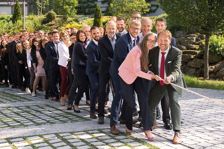 Bei Burnickl zieht das ganze Team an einem Strang. (Foto:Burnickl Ingenieur GmbH)