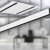 Die neue Leuchtenserie agila von Regiolux ist eine vielseitige, effiziente Lichtlinie in schlanker Bauform für zeitlos elegante Office-Beleuchtung. (Foto: Composing Regiolux & AdobeStock Showtime Networks)