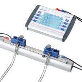 deltawaveC-P, das portable Clamp-On-Durchflussmesssystem auch für schwierigste Messungen. (Foto: systec Controls)