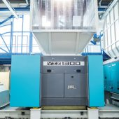 Der neue VIZ von Vecoplan kann vielfältigste Kunststoffmaterialien zuverlässig zerkleinern.