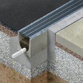 Drainfix Clean Filterrinnen reinigen Oberflächenwasser.