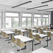 Alle 20 Minuten eine fünfminütige Stoßlüftung in Klassenzimmern: Diese Anforderung des deutschen Umweltbundesamtes (UBA) können Schulen nur mit funktionstüchtigen Fenstersystemen erfüllen. Die Realität ist aber nach Meinung von Roto Professional Service (RPS) gegenwärtig oft erschreckend.